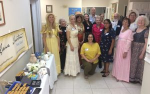 Life of the Party in Regency England group photo in Fort Myers Florida