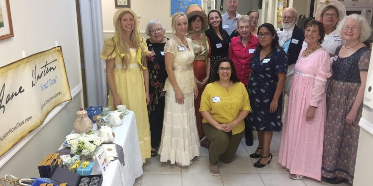 Life of the Party in Regency England – Fort Myers, Florida Style!